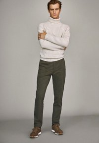 Massimo Dutti - Trousers - brown - 1