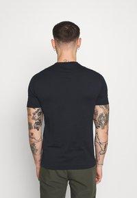 Emporio Armani - Print T-shirt - dark blue/white - 2