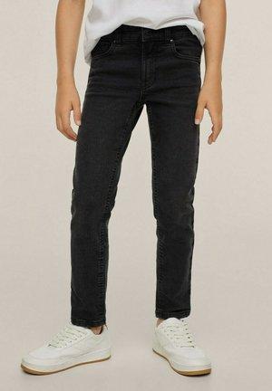 SLIM-FIT  - Straight leg jeans - black denim