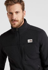 The North Face - GORDON LYONS FULL ZIP - Kurtka z polaru - black heather - 3