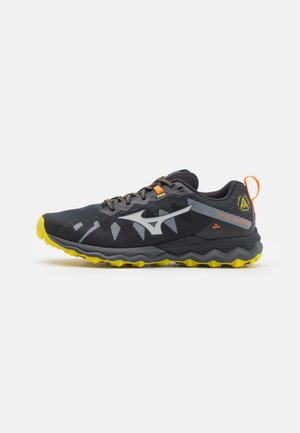 WAVE DAICHI 6 - Trail running shoes - turbulence/antarctica/obsidian