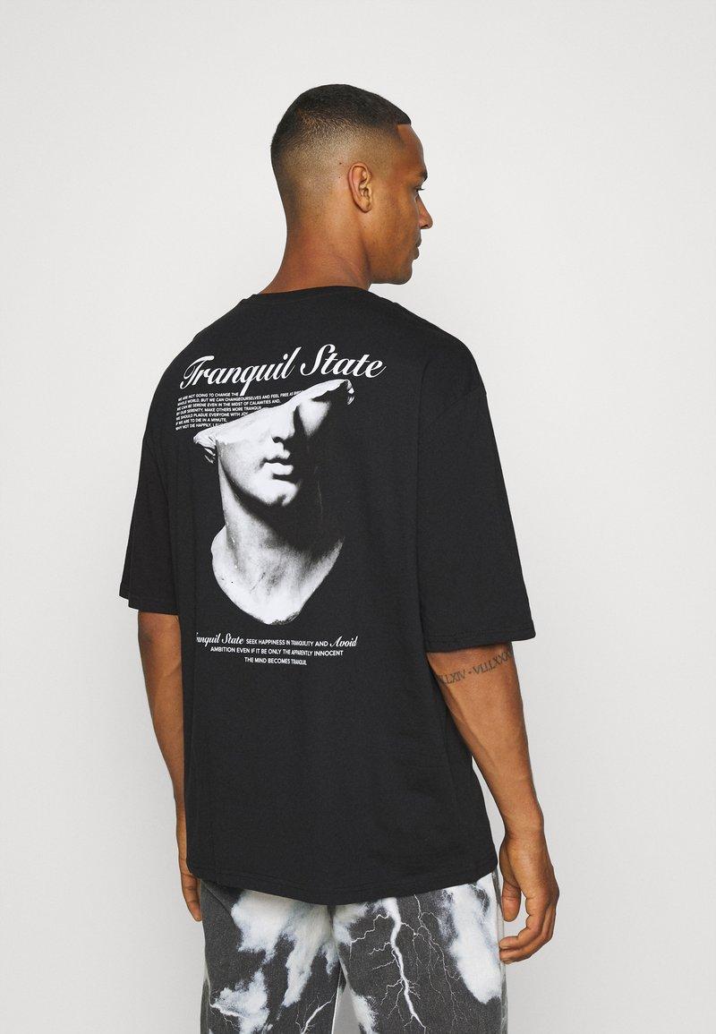Zign - UNISEX - Print T-shirt - black