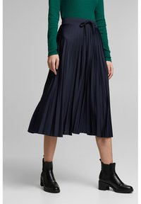 edc by Esprit - A-line skirt - navy - 0