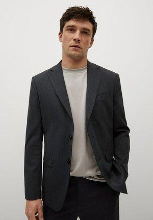 REGULAR FIT - Blazer jacket - grå