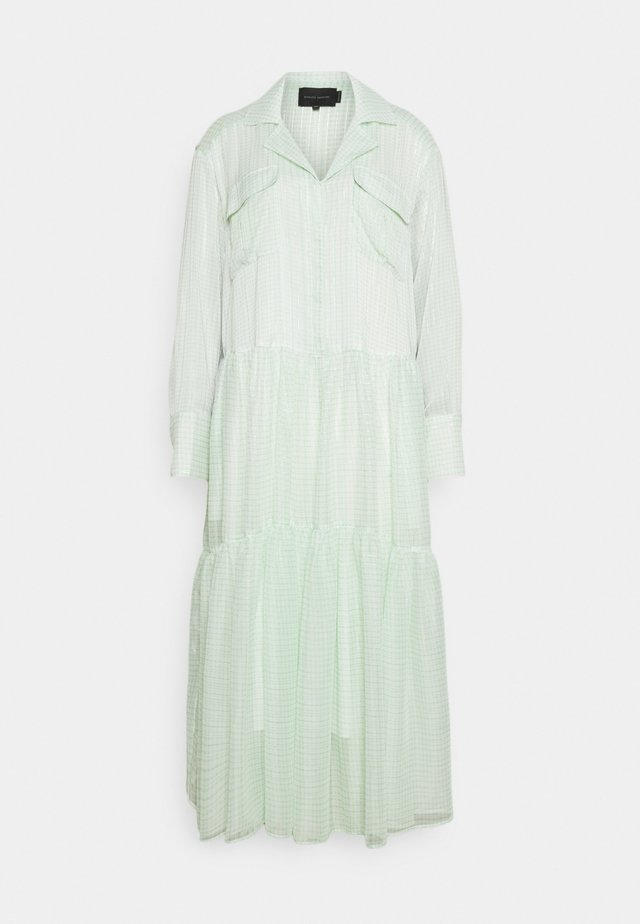 TRINE DRESS - Sukienka koszulowa - light green