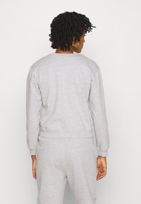 Even&Odd - Basic Crew neck regular fit - Sweatshirt - mottled light grey