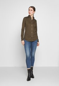Polo Ralph Lauren - HEIDI LONG SLEEVE - Button-down blouse - defender green - 1