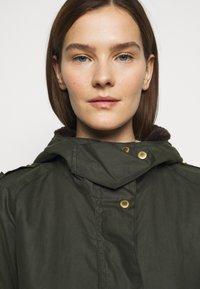 Barbour - AUSTEN WAX - Light jacket - dark green - 3