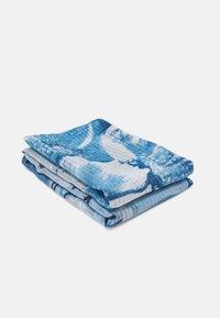 Desigual - FOU ART PICTURE - Scarf - azul tinieblas - 1