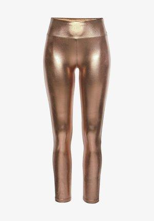 Leggings - Trousers - goldfarben