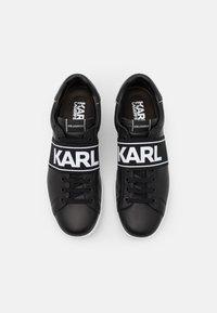 KARL LAGERFELD - KOURT BAND LACE - Tenisky - black - 3