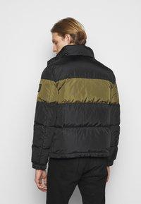 Belstaff - DOME JACKET - Down jacket - black/sage green - 3