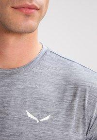 Salewa - PUEZ DRY TEE - T-shirt basic - quiet shade melange - 3