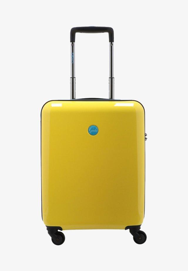 Wheeled suitcase - yellow