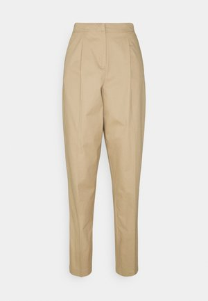 VMCHARLIE LOOSE PANT - Trousers - beige