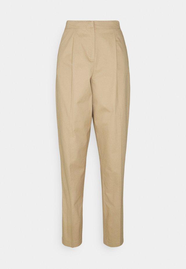 VMCHARLIE LOOSE PANT - Trousers - beige