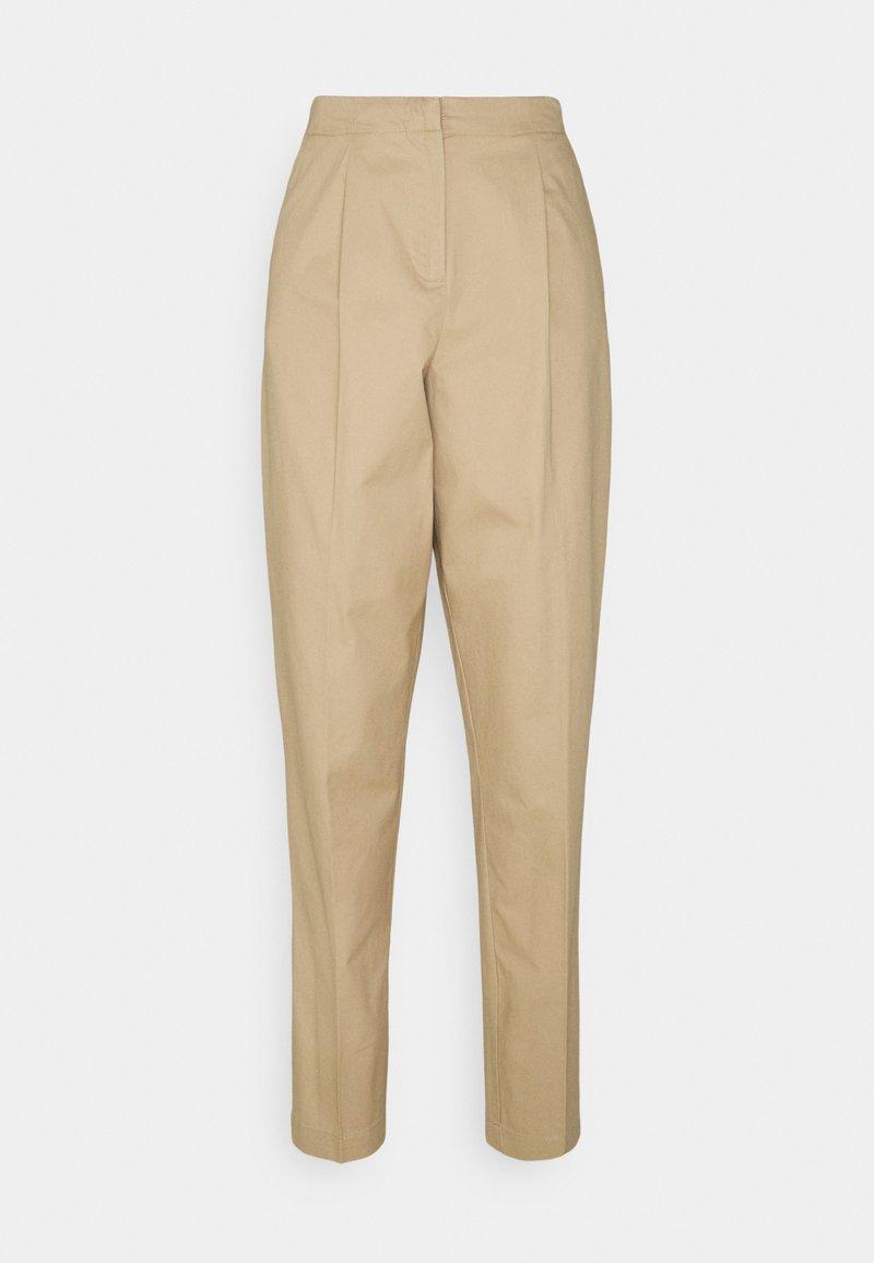 Vero Moda Tall - VMCHARLIE LOOSE PANT - Pantalones - beige