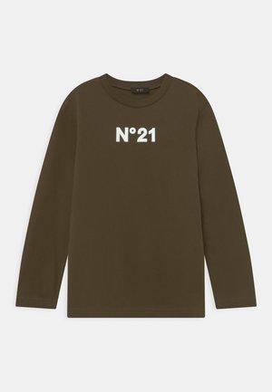 UNISEX - Langærmede T-shirts - military green