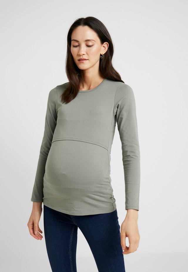CLASSIC LONG SLEEVED - T-shirt à manches longues - sage