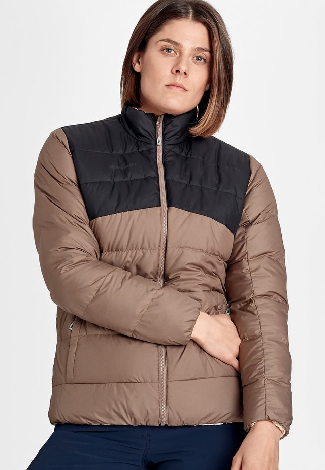 WHITEHORN - Down jacket - deep taupe-evening sand