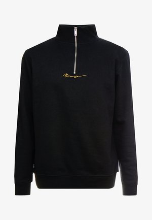 ESSENTIAL ZIP - Sudadera - black
