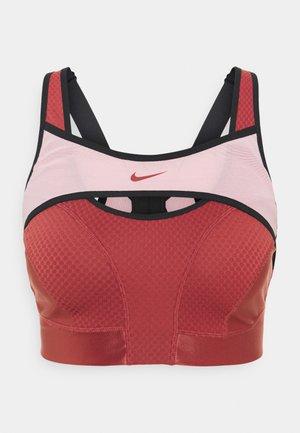 ALPHA ULTRABREATHE BRA - Reggiseno sportivo con sostegno elevato - canyon rust/pink glaze/black