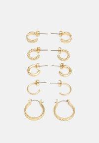 EARRINGS 5 PACK - Kolczyki - gold-coloured