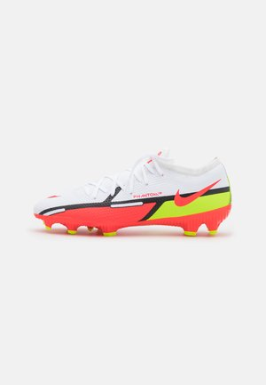 PHANTOM GT2 PRO FG - Fotbollsskor fasta dobbar - white/bright crimson/volt