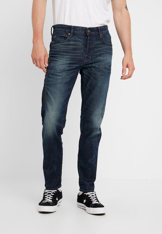 CITISHIELD 3D SLIM TAPERED - Jeans slim fit - kir stretch denim o - antic nile wp