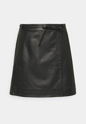 SLFRALLA SKIRT - A-line skirt - black