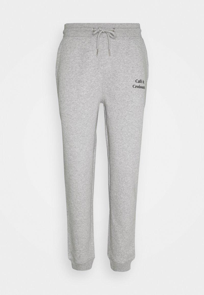 Les Petits Basics - JOGGING PANTS CAFE CROISSANT UNISEX - Tracksuit bottoms - grey/black