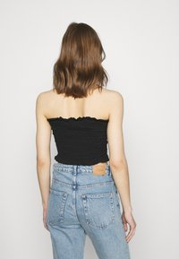Missguided - SHEARED BANDEAU 2 PACK  - Top - black/mustard - 2