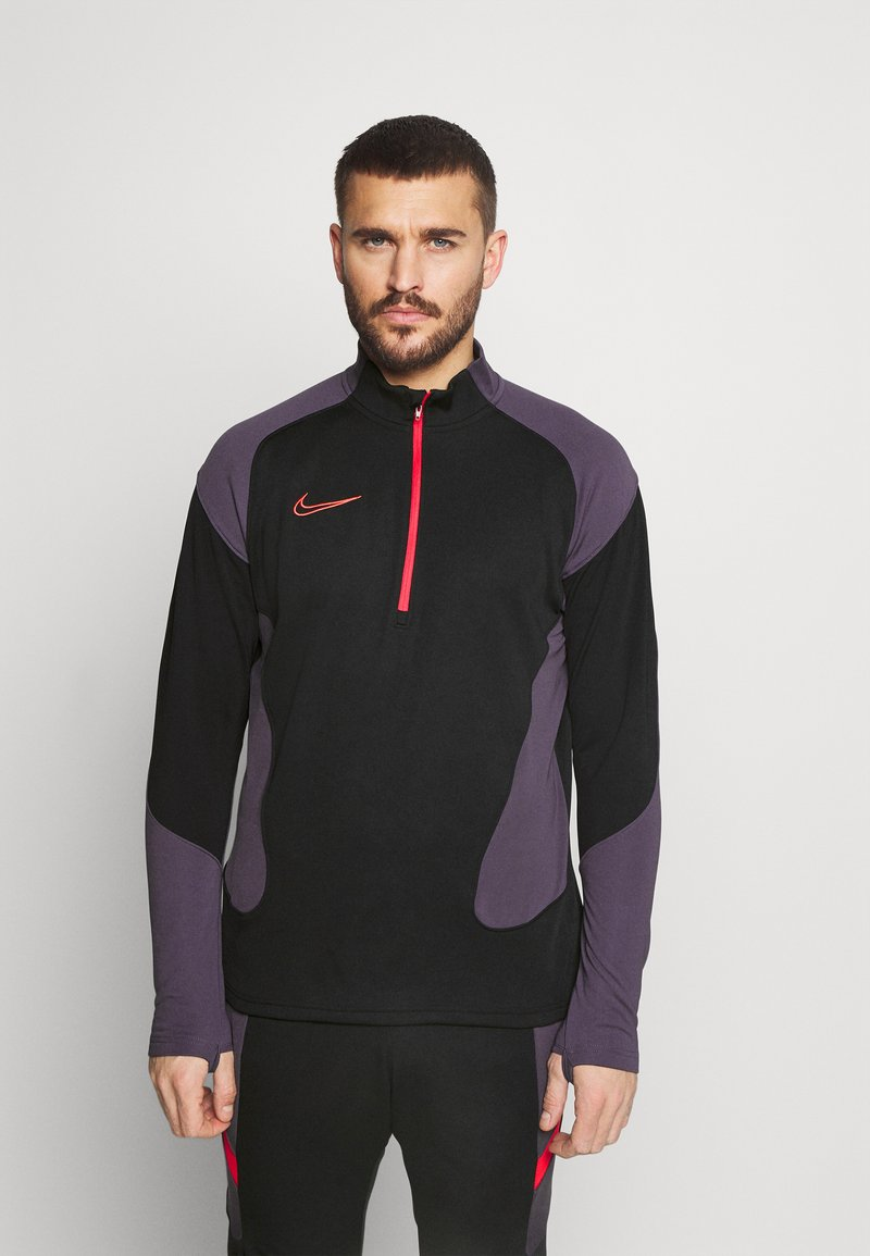 Nike Performance - DRY ACADEMY SUIT - Tracksuit - black/siren red