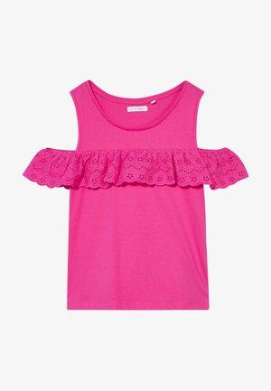 TEEN GIRLS - Print T-shirt - beetroot purple