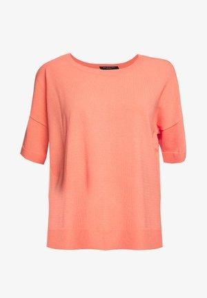 SLFWILLE  - Basic T-shirt - burnt coral