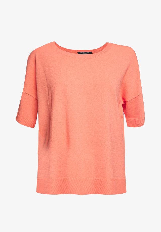 SLFWILLE  - T-shirts basic - burnt coral