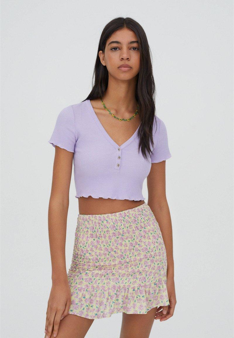 PULL&BEAR - Blouse - purple