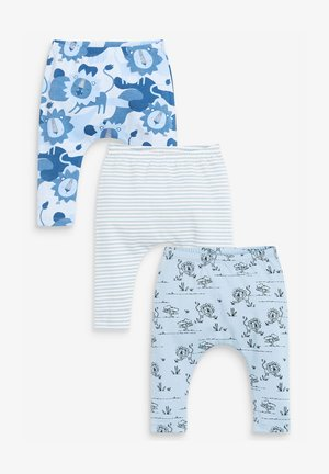 3 PACK  - Leggings - Trousers - blue