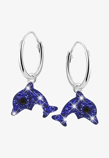 Earrings - sapphire