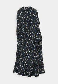MAMALICIOUS - MLKADY SHORT DRESS - Žerzejové šaty - black - 1