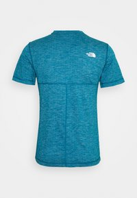 The North Face - LIGHTNING TEE - Basic T-shirt - morrocan blue heather - 1