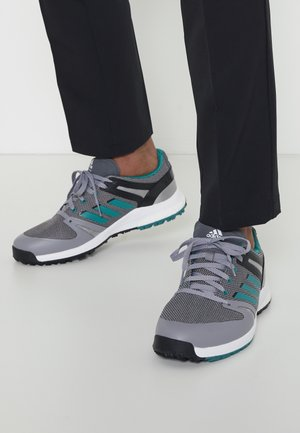 EQT SPKL - Chaussures de golf - grey four/sub green/core black