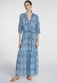 SET - Maxi dress - white blue - 1