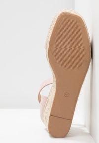 Anna Field - Sandaler med høye hæler - nude - 6