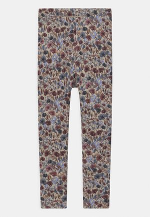 NMFBEFRIDA - Leggings - Trousers - peyote melange