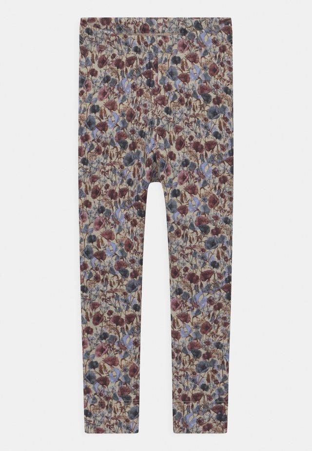 NMFBEFRIDA - Leggings - Trousers - peyote melange