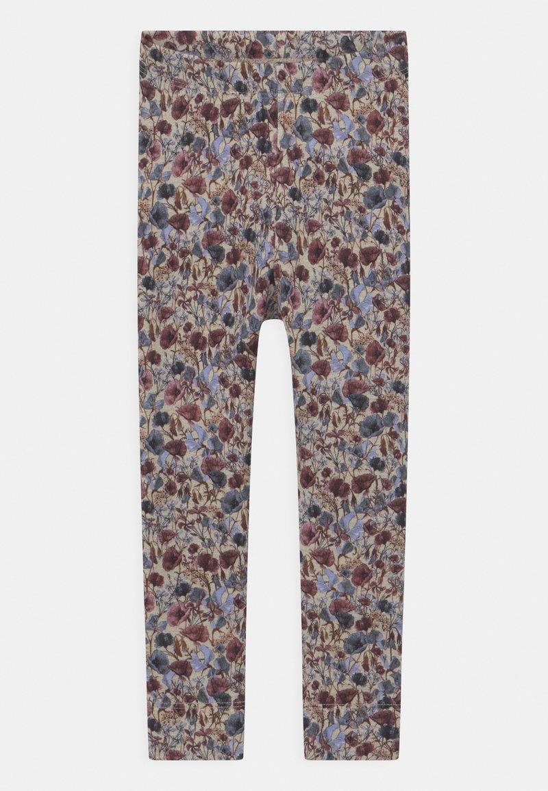 Name it - NMFBEFRIDA - Leggings - Trousers - peyote melange