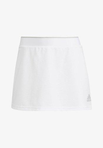 CLUB SKIRT - Sports skirt - white/grey two