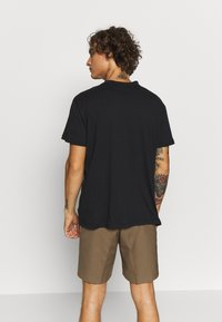 The Ragged Priest - TEE WITH ZIP PANELS - Jednoduché triko - black - 2