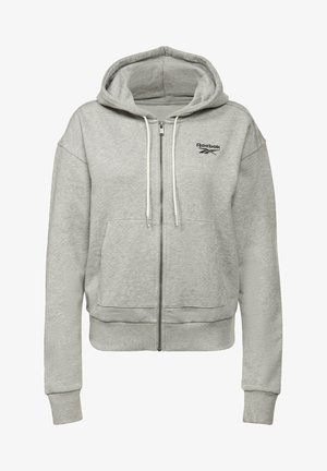 REEBOK IDENTITY ZIP-UP TRACK TOP - Zip-up hoodie - grey